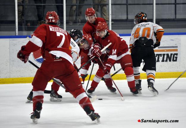 Sarnia sting midget hockey